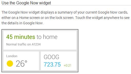 gnow widget